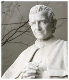 本学園創立者 聖ドン・ボスコ (1815~1888)
